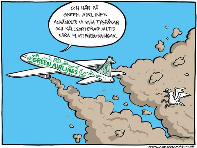 Green airline